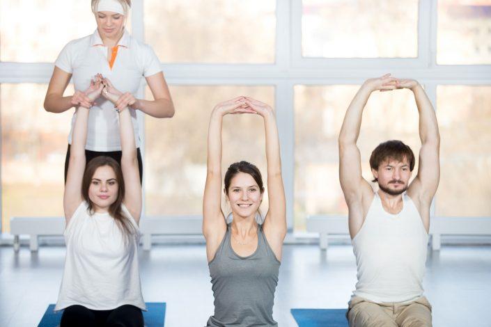 Rückenschongymnastik